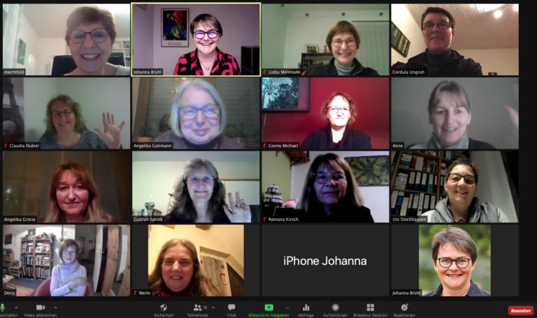 Zoom Workshop für das Frauennetzwerk